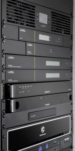 Luxul wireless system AV rack