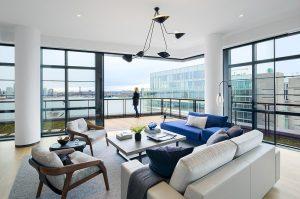 Lighting design for the home living room