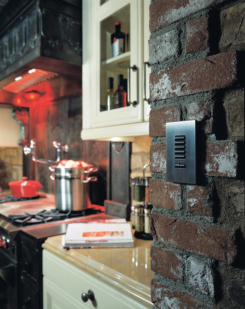Walmmount keypad lighting controls kitchen