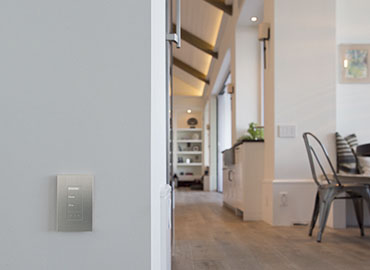 Lighting Controls keypad nook in background