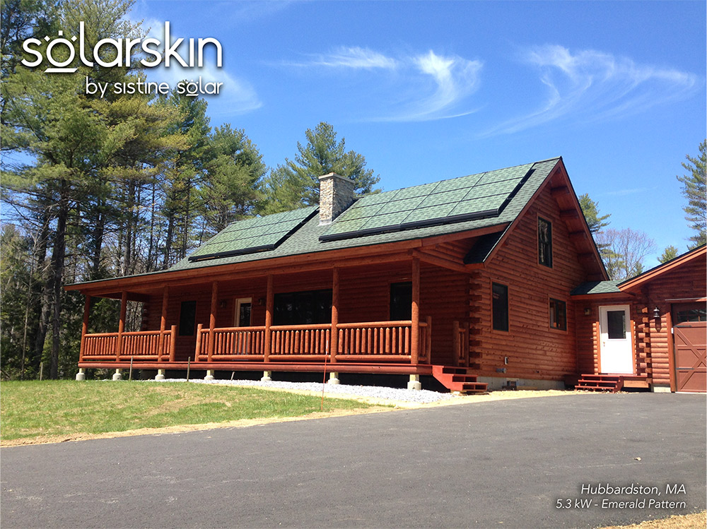 SolarSkin Hubbardston after