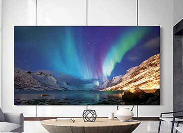 The Wall by Samsung Living Room