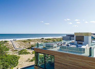 Hamptons Beach House beach view 370x270