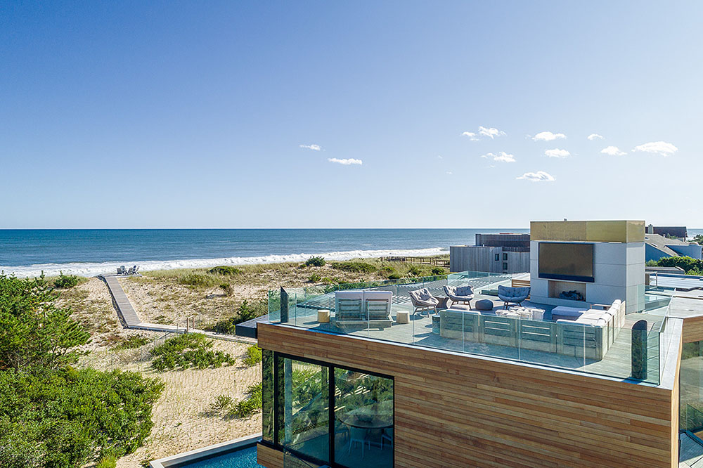 Hamptons Beach House beach view