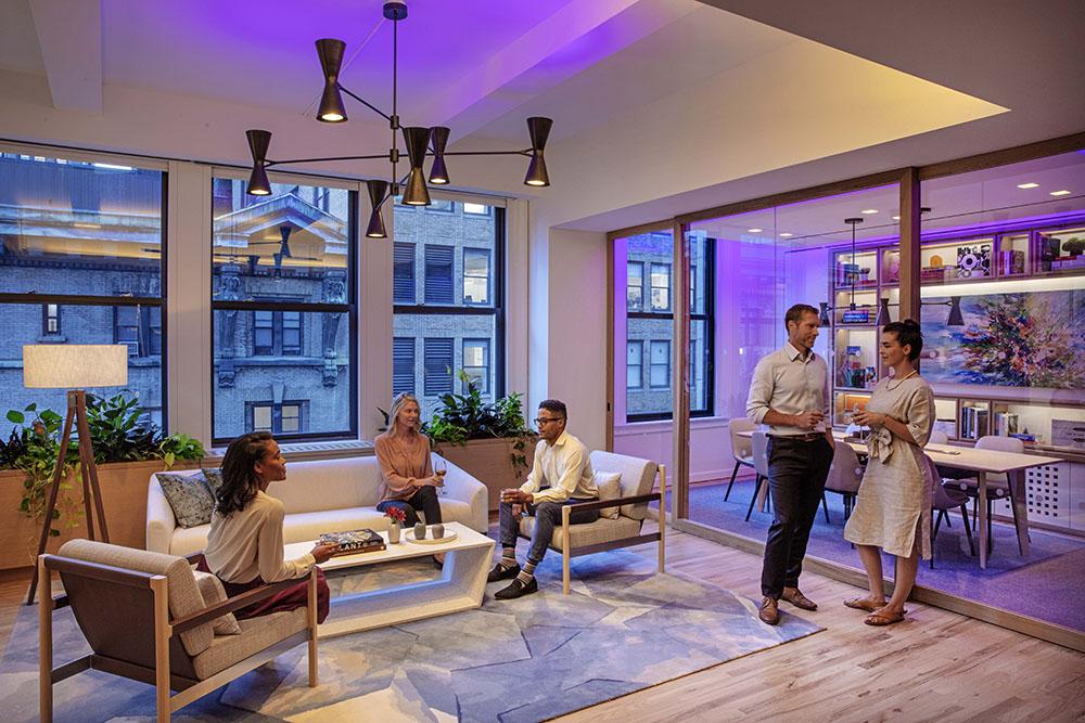 LED Technology living room