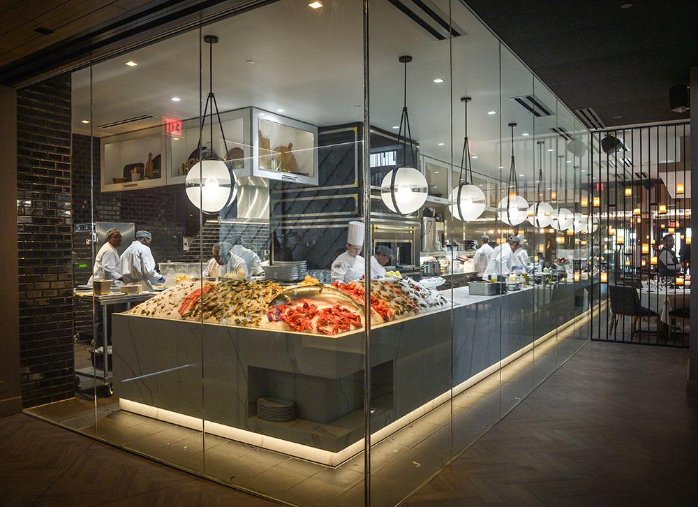 LED Technology restaurant kitchen