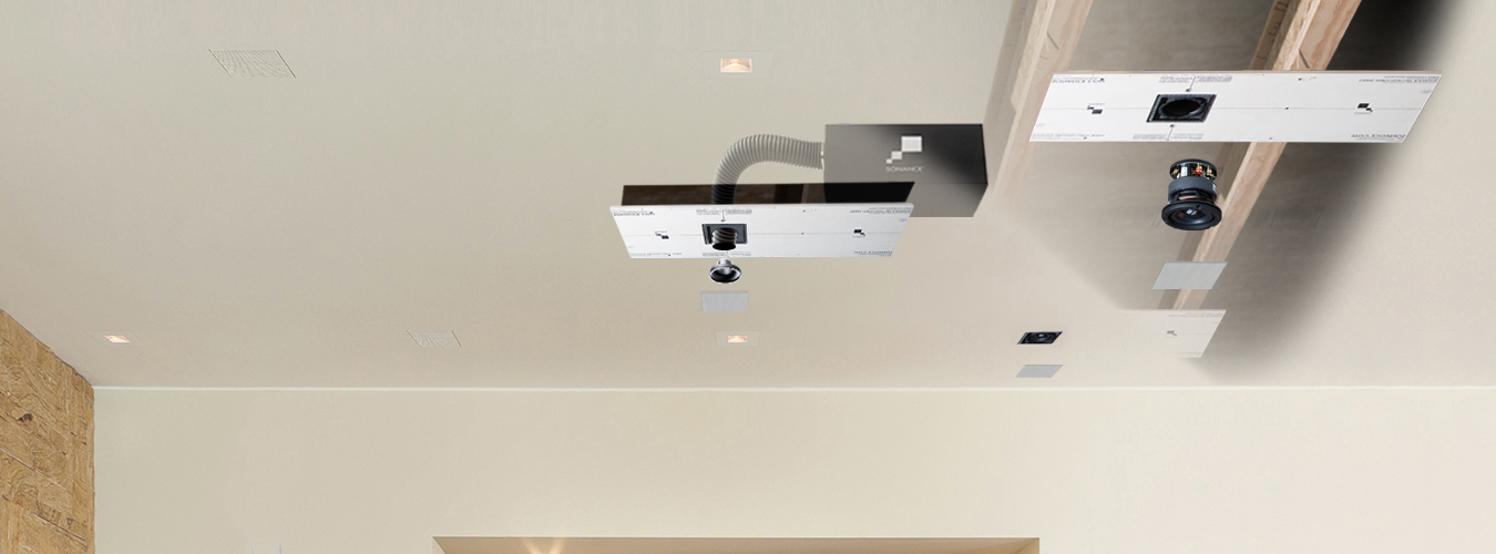Sonance Architectural Series in-ceiling system
