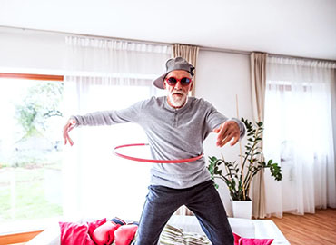 Aging in Place - man dancing