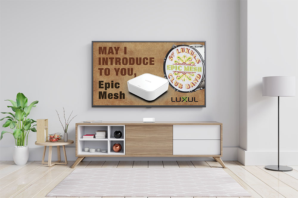 Mesh network house diagram