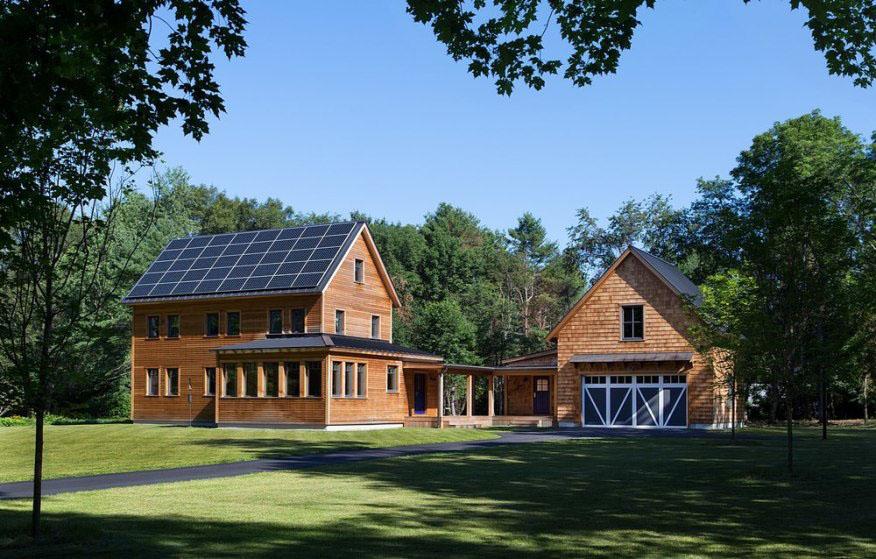 net-positive farmhouse