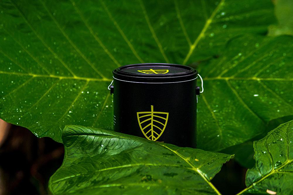 Smog Armor bucket and leaf