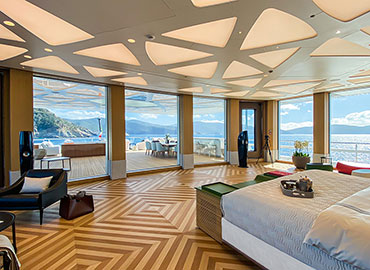 IMS yacht bedroom view
