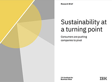 Sustainability at a turning point
