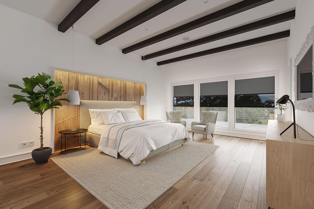 Screen Innovations Nano Duo bedroom